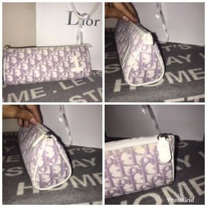 💯% Authentic Dior Purple Makeup Bag